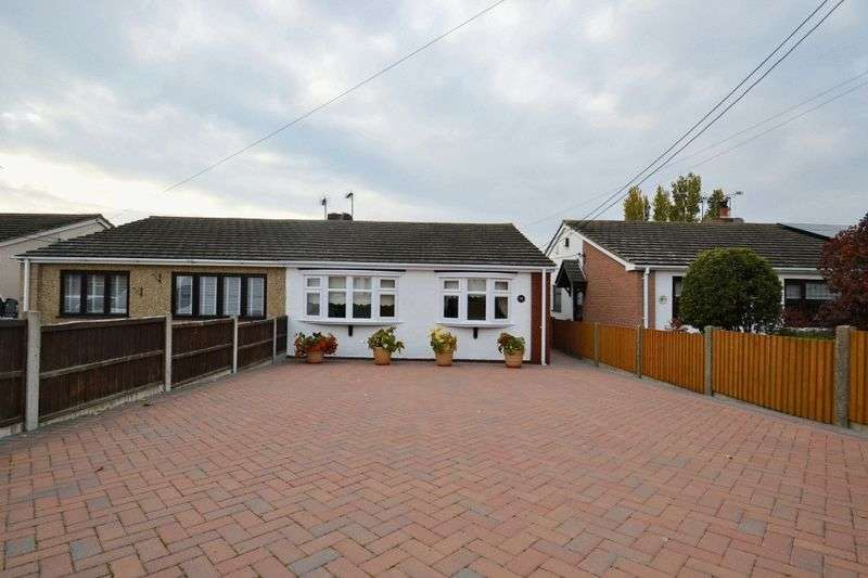 2 Bedrooms Semi Detached Bungalow for sale in The Broadway, Minster-On-Sea