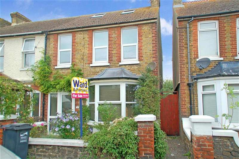 4 Bedrooms Semi Detached House for sale in Beacon Road, Broadstairs, Kent