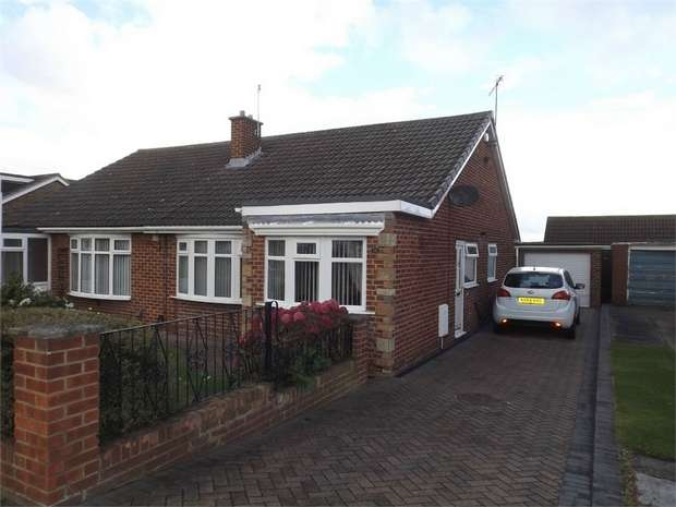 2 Bedrooms Semi Detached Bungalow for sale in Buckingham Drive, Middlesbrough, North Yorkshire