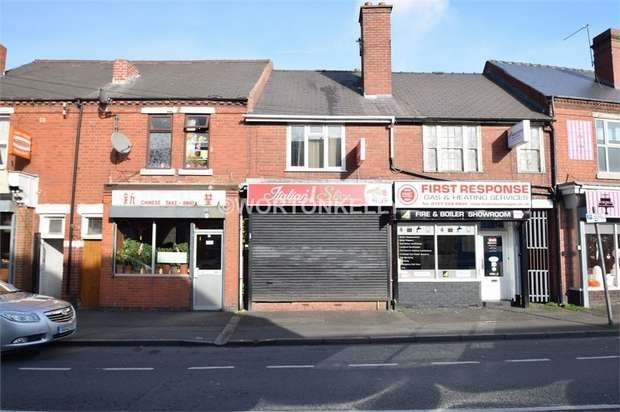 1 Bedroom Commercial Property for sale in 61 Long Lane, HALESOWEN, West Midlands