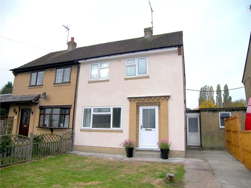 2 Bedrooms Semi Detached House for sale in Parks Avenue, South Wingfield, Alfreton, Derbyshire, DE55