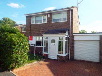 3 Bedrooms Semi Detached House for sale in Mitford Close, Washington, Tyne and Wear, NE38