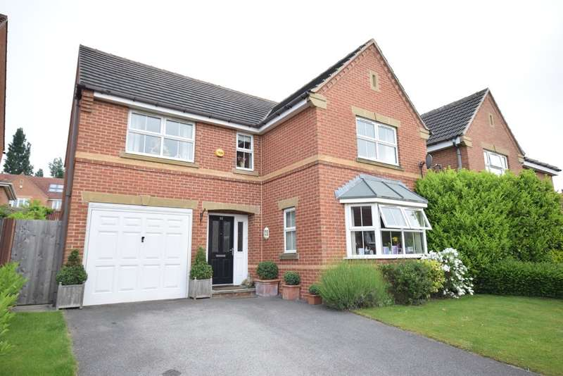4 Bedrooms Detached House for sale in Larkspur Way, Wakefield