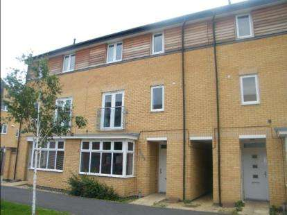 4 Bedrooms Terraced House for sale in Four Chimneys Crescent, Hampton Vale, Peterborough, Cambridgeshire