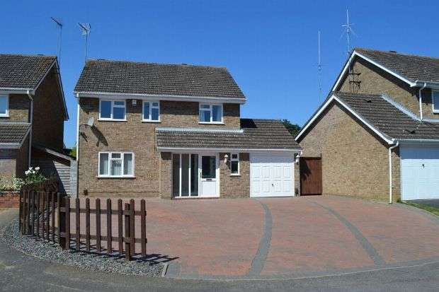 4 Bedrooms Detached House for sale in Baunhill Close, Langlands, Northampton NN3 3EQ