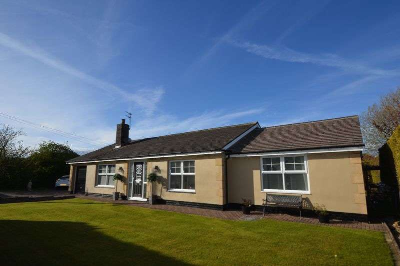 4 Bedrooms Detached Bungalow for sale in Mile Road, Widdrington