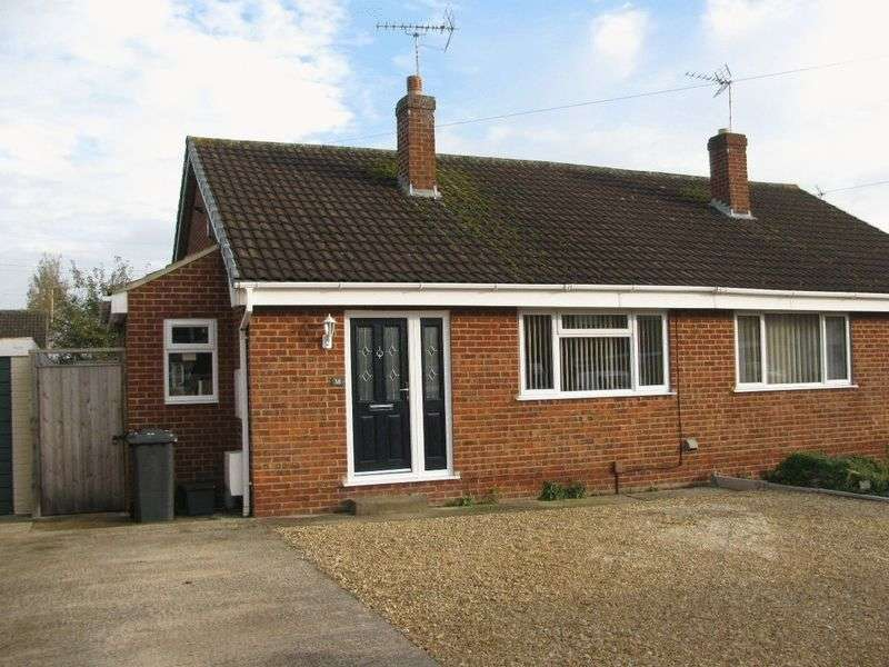 2 Bedrooms Semi Detached Bungalow for sale in Brionne Way, Longlevens, Gloucester