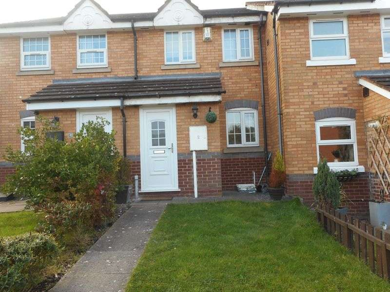 2 Bedrooms Mews House for sale in Westwood Close, Nuneaton