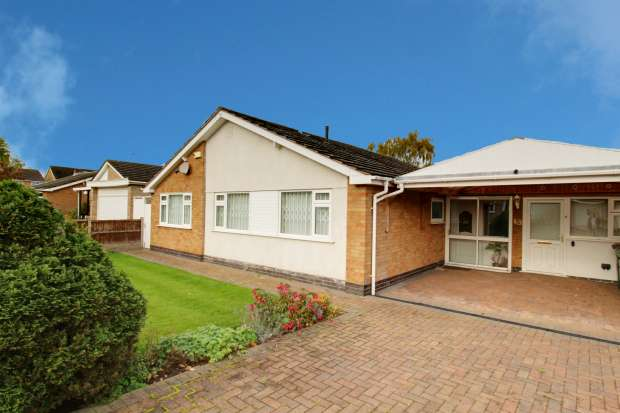 3 Bedrooms Detached Bungalow for sale in Highland Avenue,, Leicester, Leicestershire, LE9 2HU