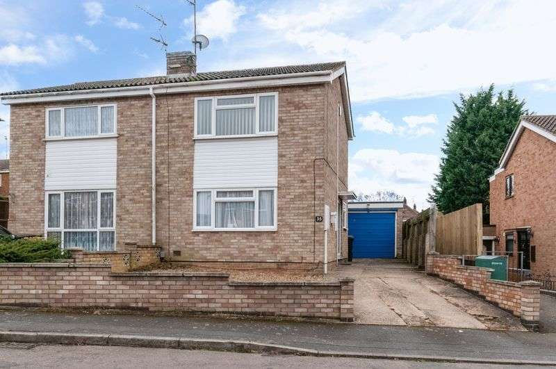 3 Bedrooms Semi Detached House for sale in Meadow Walk, Higham Ferrers