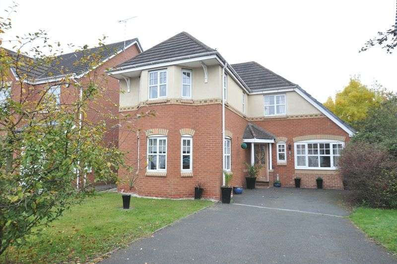 4 Bedrooms Detached House for sale in Marlow Drive, Branston