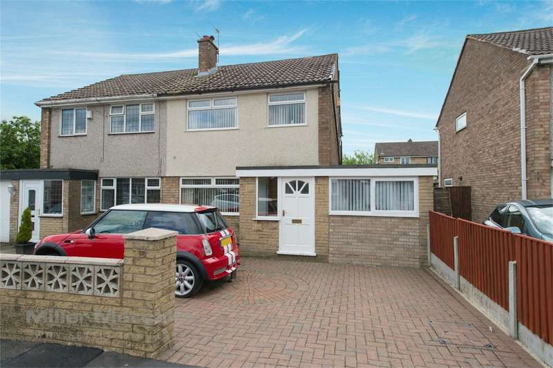 4 Bedrooms Semi Detached House for sale in Trent Drive, Hindley Green, Wigan, Lancashire