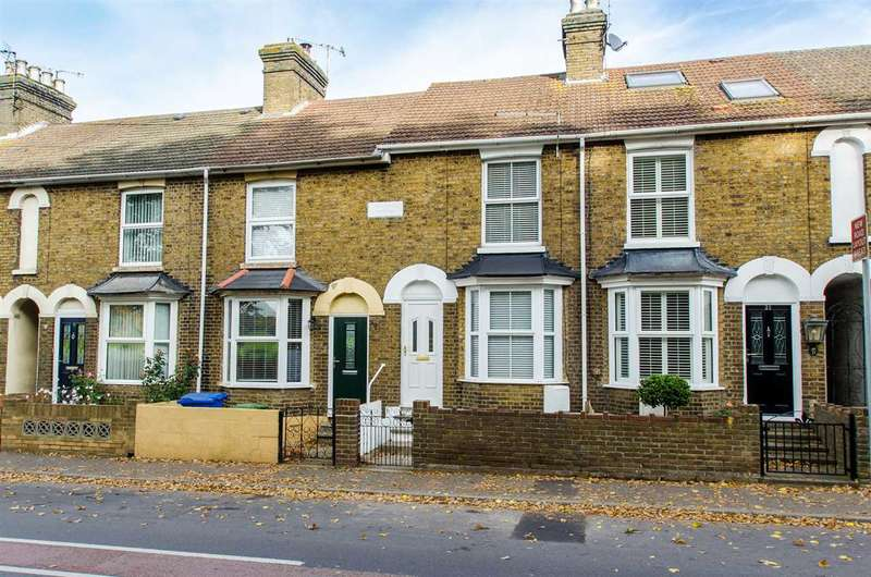 2 Bedrooms Terraced House for sale in Whitstable Road, Faversham