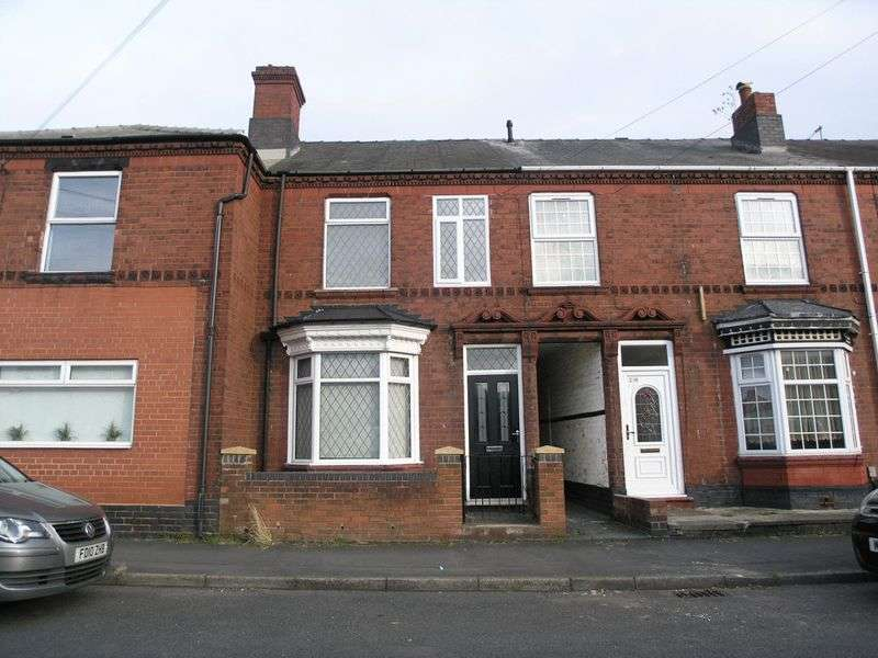 3 Bedrooms Terraced House for sale in BRIERLEY HILL, Brockmoor, Station Road