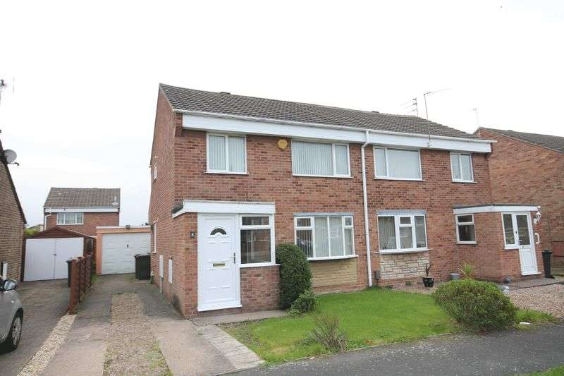 3 Bedrooms Semi Detached House for sale in DUNVEGAN CLOSE, STENSON FIELDS