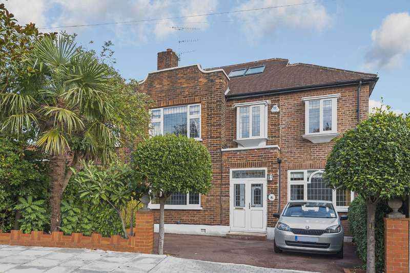 4 Bedrooms House for sale in Abbots Gardens, East Finchley