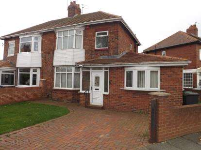 3 Bedrooms Semi Detached House for sale in Page Avenue, South Shields, Tyne and Wear, NE34