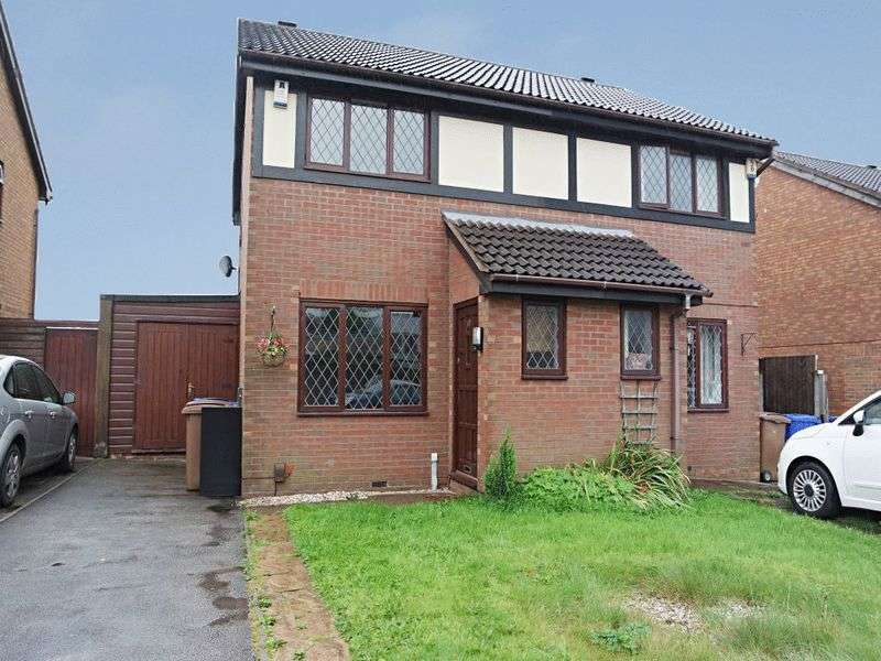 2 Bedrooms Semi Detached House for sale in Merton Street, Longton, Stoke-On-Trent, ST3 1LG