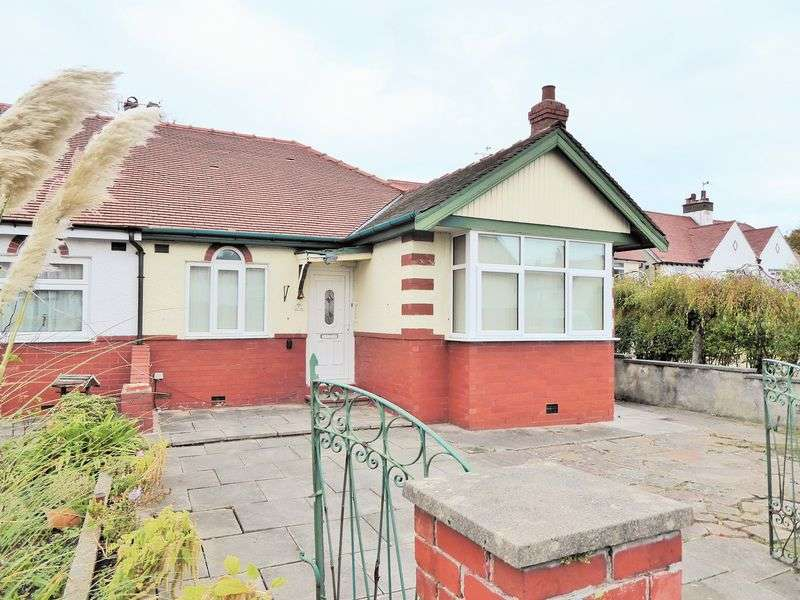 2 Bedrooms Semi Detached Bungalow for sale in The Crescent, Crossens, Southport
