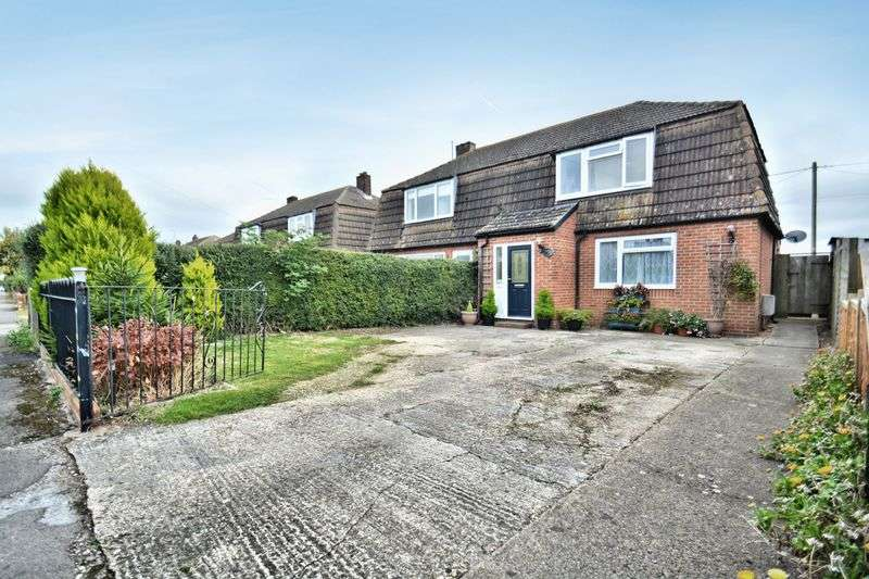 3 Bedrooms Semi Detached House for sale in Saxons Heath, Long Wittenham.