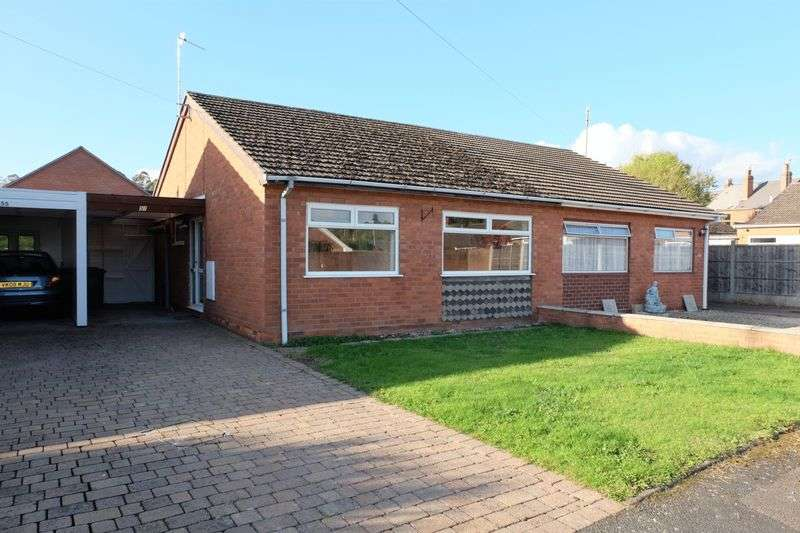 2 Bedrooms Semi Detached Bungalow for sale in Mill Close, Stourport-On-Severn DY13 9BU
