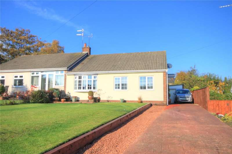 3 Bedrooms Semi Detached Bungalow for sale in Orchard Gardens, Chester le Street, Co Durham, DH3