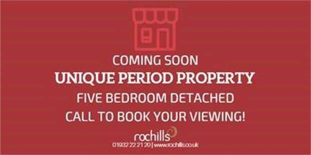 5 Bedrooms Detached House for sale in Oatlands Village, Weybridge, Surrey