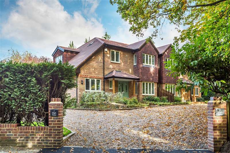 5 Bedrooms Semi Detached House for sale in High Trees, Firbank Lane, Woking, Surrey, GU21