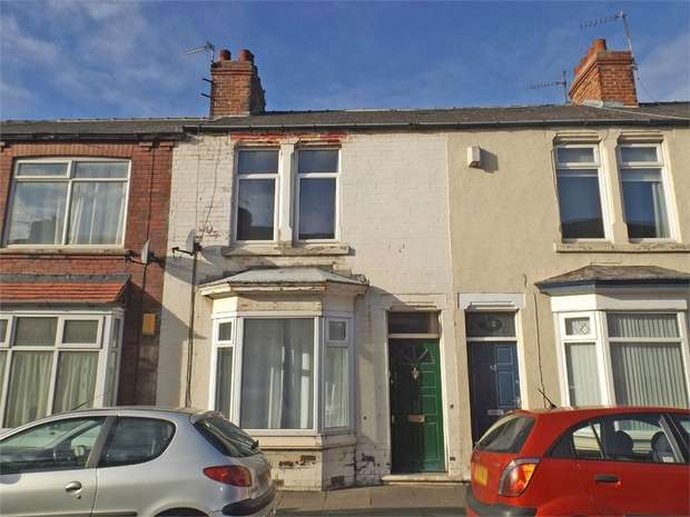 2 Bedrooms Terraced House for sale in Charlotte Street, Redcar, North Yorkshire