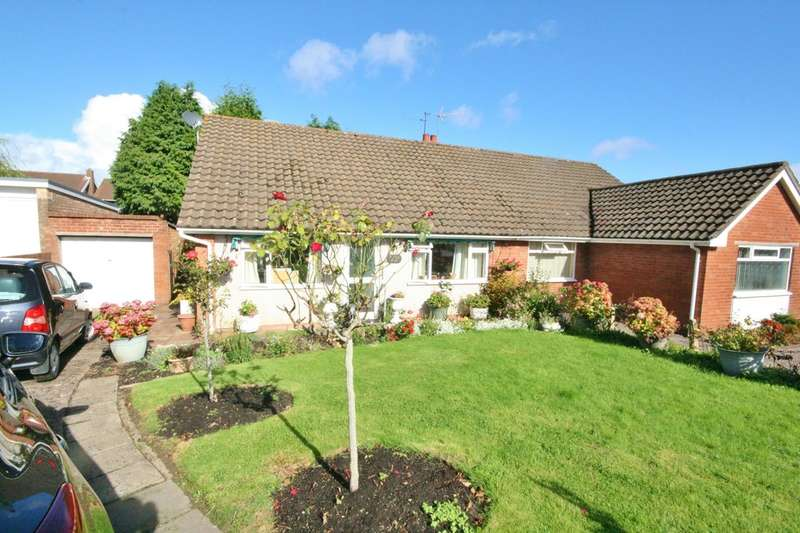 2 Bedrooms Detached Bungalow for sale in Greenhaven Rise, Llandough, Penarth. Vale of Glamorgan. CF64 2PN