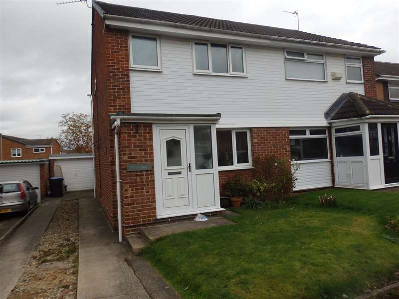 3 Bedrooms Semi Detached House for sale in Hazelmere, Spennymoor