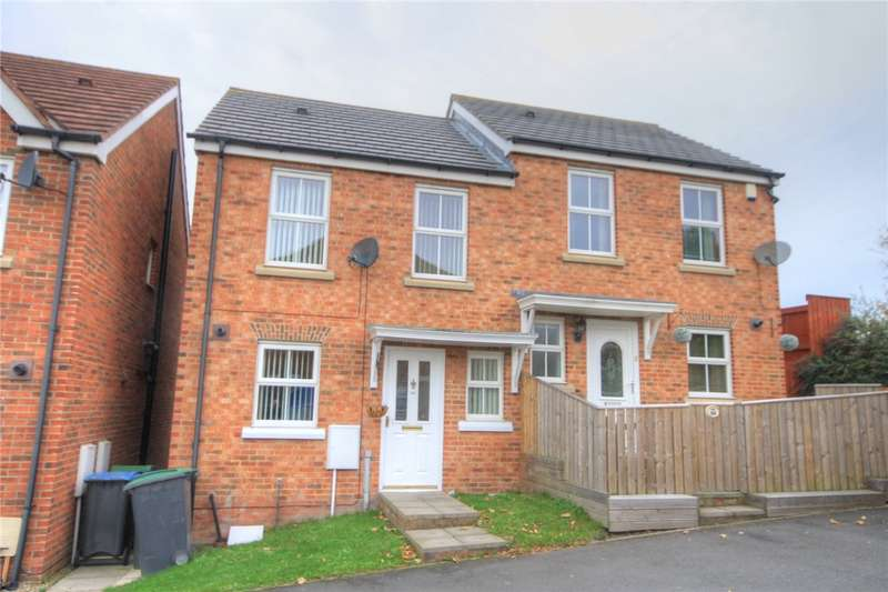 2 Bedrooms Semi Detached House for sale in Orwell Gardens, Stanley, Durham, DH9