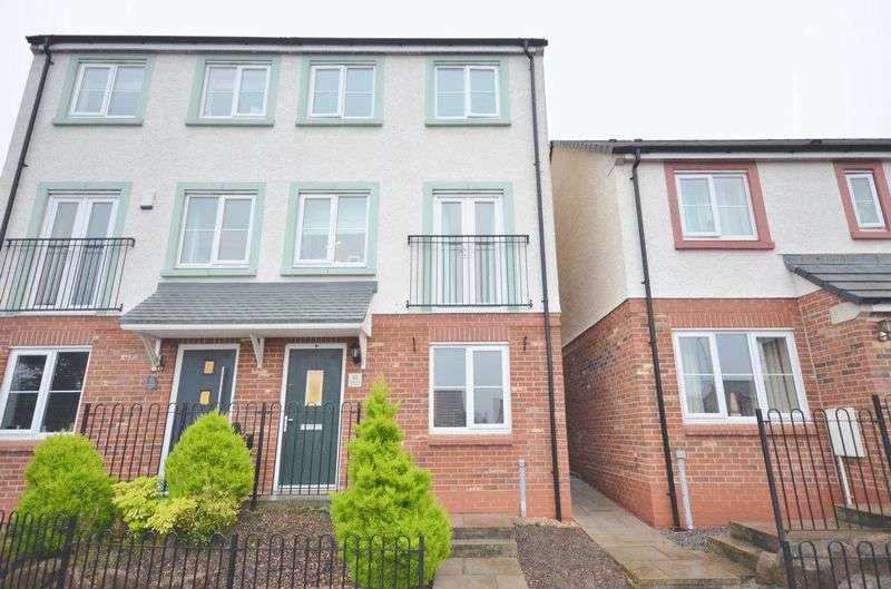 4 Bedrooms Semi Detached House for sale in Hartside Court, Workington