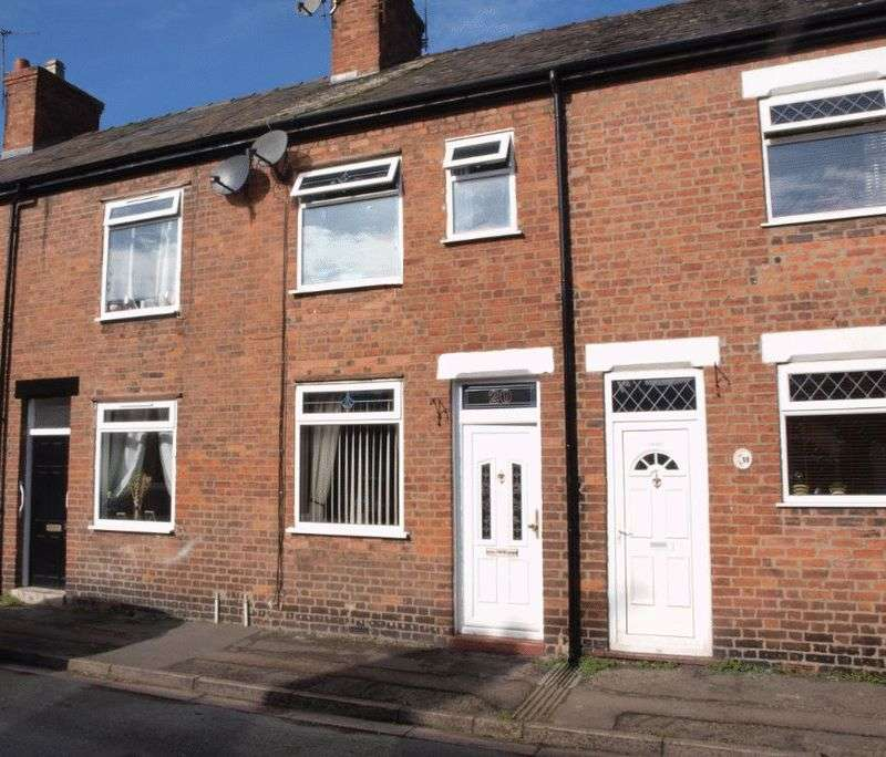 3 Bedrooms Terraced House for sale in Gladstone Street, Castle, CW8 1HP