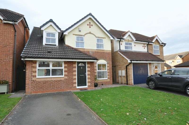 3 Bedrooms Detached House for sale in JACKLIN CLOSE, BRANSTON