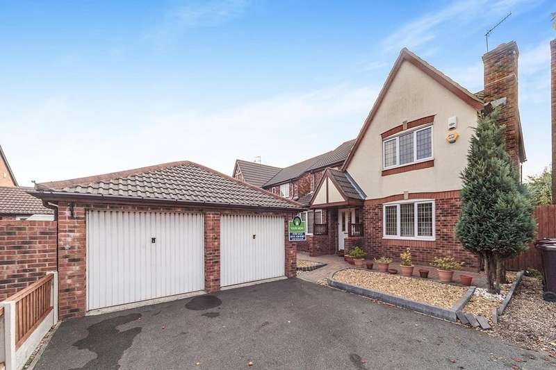 4 Bedrooms Detached House for sale in Balmoral Way, Prescot, L34