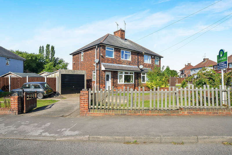 3 Bedrooms Semi Detached House for sale in Milnhay Road, Langley Mill, Nottingham, NG16