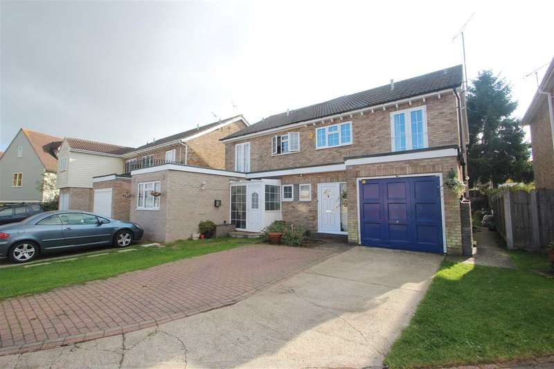 4 Bedrooms Semi Detached House for sale in Thornwood, Myland, Colchester