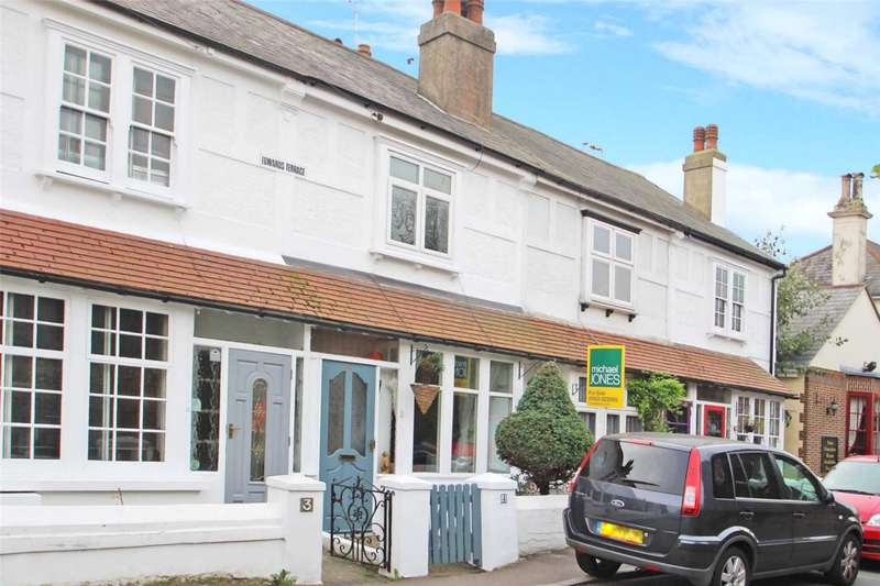 2 Bedrooms Terraced House for sale in Edwards Terrace, West Street, Sompting, BN15