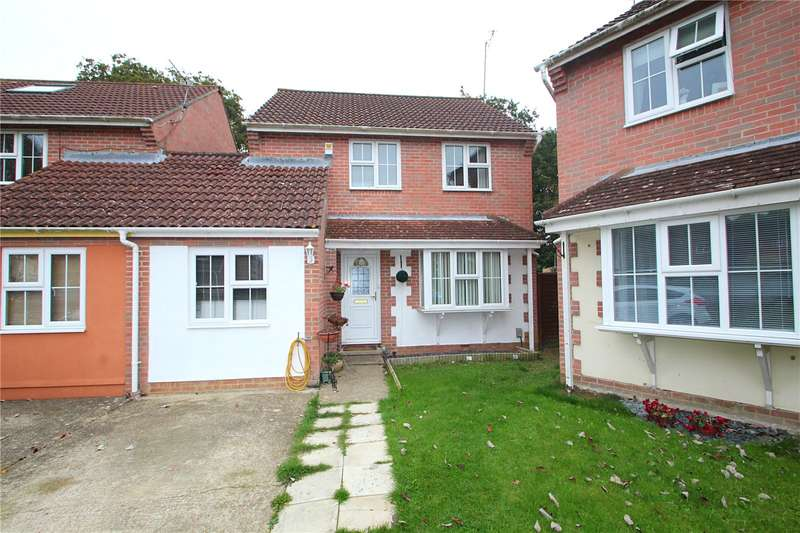 4 Bedrooms Detached House for sale in Juniper Close, Highdown Copse, Worthing, BN13