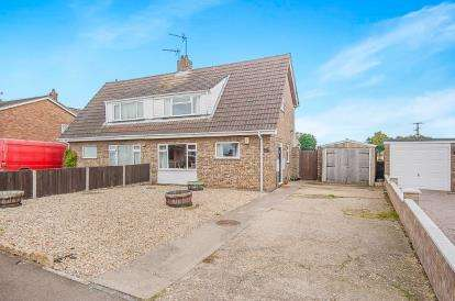 3 Bedrooms Semi Detached House for sale in Peter Paine Close, Butterwick, Boston, Lincolnshire