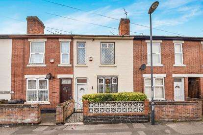 3 Bedrooms Terraced House for sale in Holcombe Street, Derby, Derbyshire