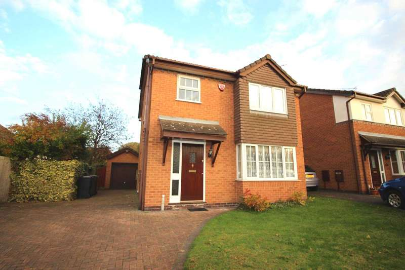 3 Bedrooms Detached House for sale in Roman Way, Syston