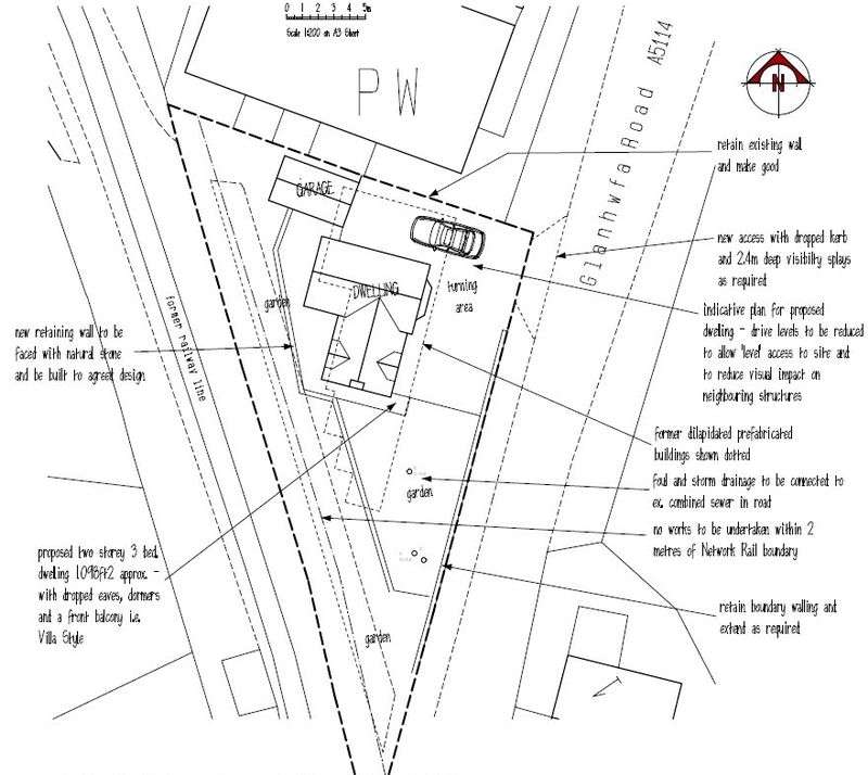3 Bedrooms Land Commercial for sale in Llangefni, Anglesey