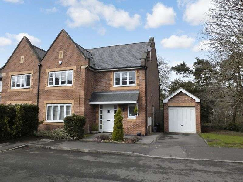 4 Bedrooms Semi Detached House for sale in Chestnut Drive, Abergavenny, Monmouthshire