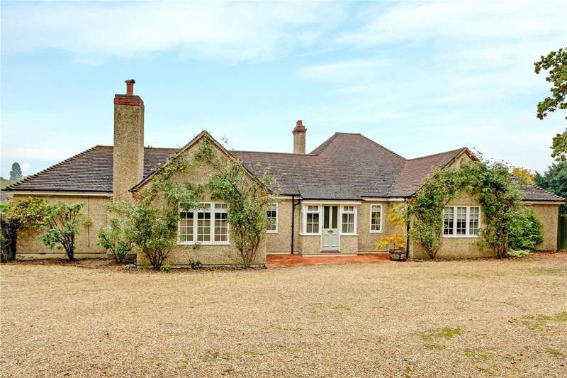 4 Bedrooms Detached Bungalow for sale in Newtown Common, Newbury, Hampshire, RG20