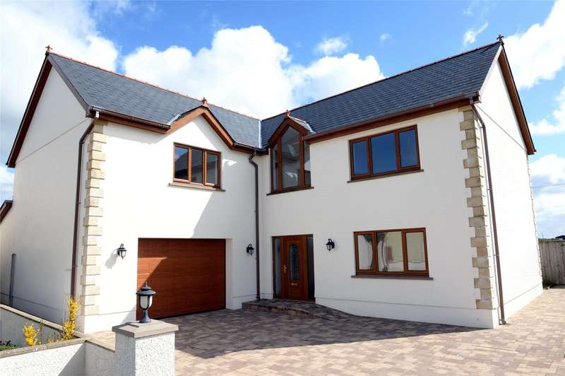 6 Bedrooms Detached House for sale in Ty Dderwen, Bro'r Dderwen, Clynderwen, Pembrokeshire
