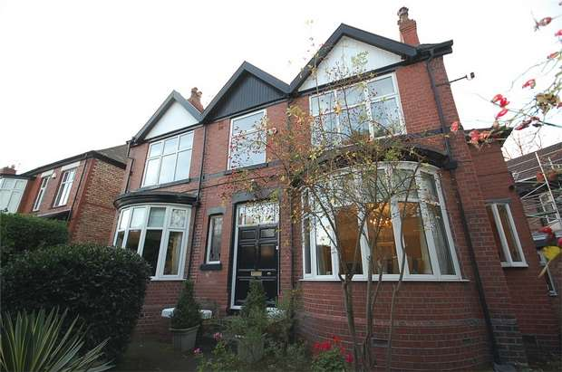 4 Bedrooms Detached House for sale in Victoria Road, Whalley Range, MANCHESTER