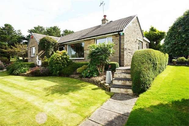 4 Bedrooms Detached Bungalow for sale in Slack Lane, off Cinderhills Road, Holmfirth, West Yorkshire