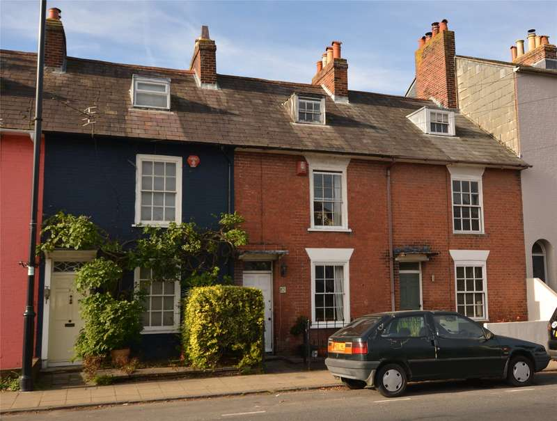 3 Bedrooms Terraced House for sale in Southampton Road, Lymington, Hampshire, SO41